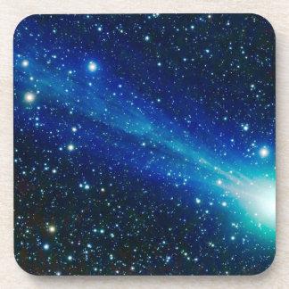 Dessous-de-verre Comète bleue