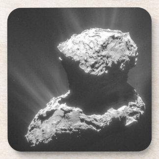Dessous-de-verre Comète Rosetta