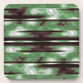 Dessous-de-verre Copie de motif de Camo de rayures