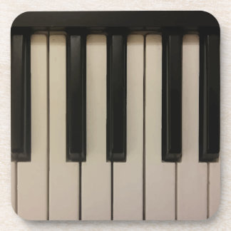 Dessous-de-verre Copie mignonne de clés de piano