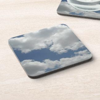 Dessous-de-verre Copie mignonne de photo de nuages