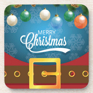 Dessous-de-verre Costume de Père Noël de Joyeux Noël