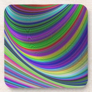 Dessous-de-verre Courbes de couleur