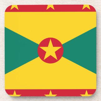 Dessous-de-verre Coût bas ! Drapeau du Grenada
