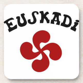 Dessous-de-verre Croix Basque Euskadi Rouge