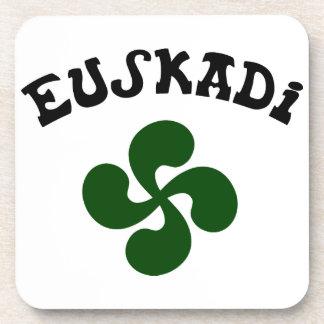 Dessous-de-verre Croix Basque Euskadi Verte