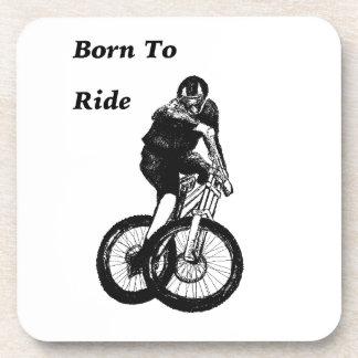 Dessous-de-verre Croix cycloe de CYCLISTE du cycliste MTB BMX de