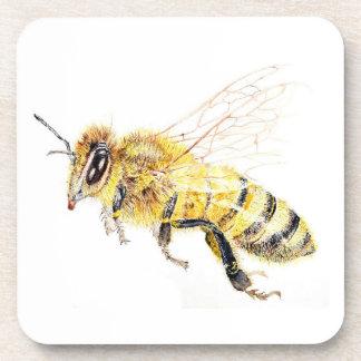 Dessous de verre d'abeille