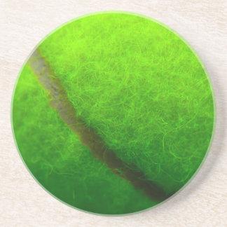 Dessous de verre de balle de tennis