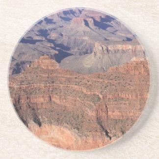Dessous de verre de boissons de grès de canyon