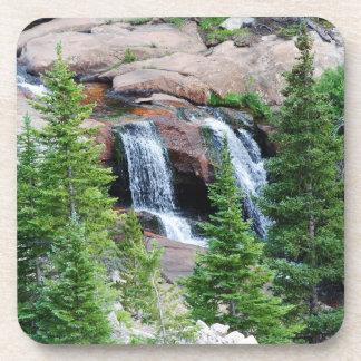 Dessous de verre de cascade du Colorado