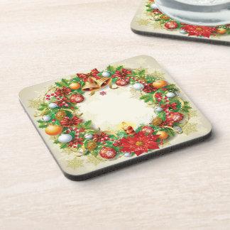 Dessous de verre de guirlande de Noël (placez de Sous-bock