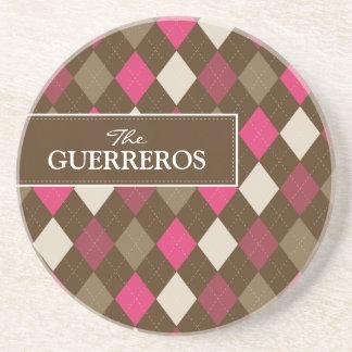 Dessous de verre de rose/chocolat de Guerreros