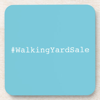 Dessous de verre de #WalkingYardSale