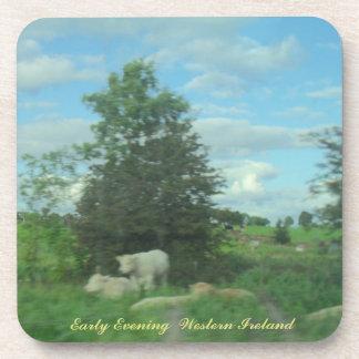 Dessous-de-verre Début de soirée Irlande occidentale