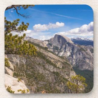 Dessous-de-verre Demi de paysage de dôme, la Californie