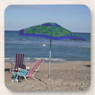 Dessous-de-verre Détendez sur la plage