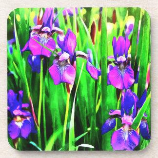 Dessous de verre d'iris