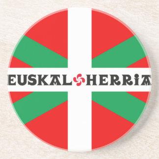 "Dessous de verre Drapeau Basque ""Ikkurina"""