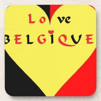 Dessous-de-verre DRAPEAU LOVE BELGIQUE.png