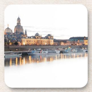 Dessous-de-verre Dresde la nuit