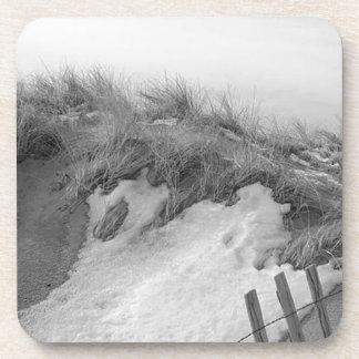 Dessous-de-verre Dunes de sable d'hiver