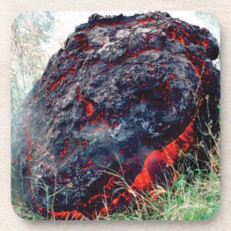 Dessous-de-verre éclat du feu et de flamme