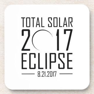 Dessous-de-verre Éclipse 2017 solaire totale