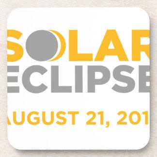 Dessous-de-verre Éclipse solaire le 21 août 2017