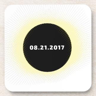 Dessous-de-verre Éclipse solaire totale