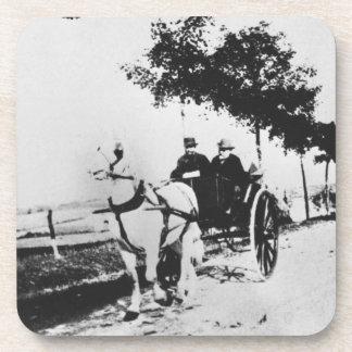 Dessous-de-verre Edgar Degas | Edgar Degas et un ami