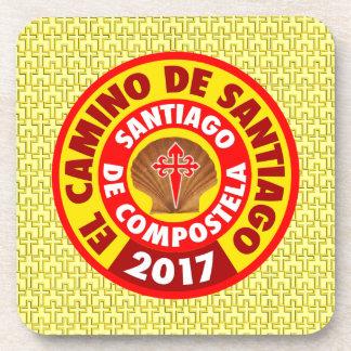 Dessous-de-verre EL Camino De Santiago 2017