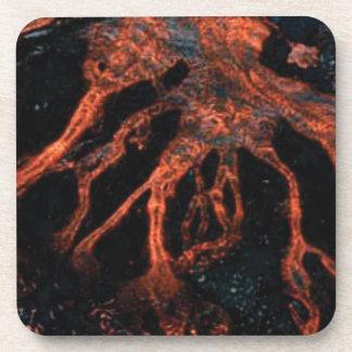 Dessous-de-verre embrouillement de magma
