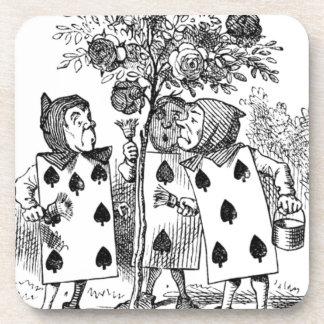 Dessous-de-verre Employés de carte de jeu