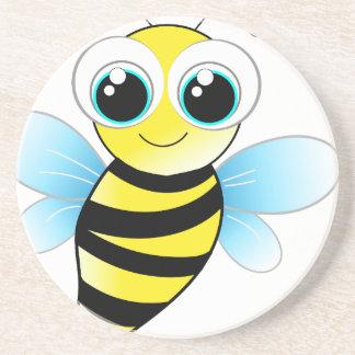 Dessous De Verre En Grès abeille