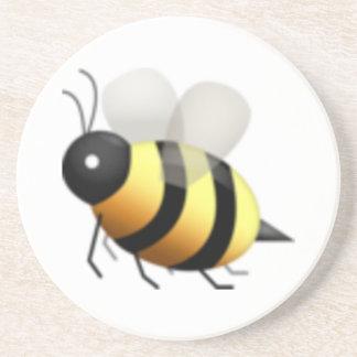 Dessous De Verre En Grès Abeille - Emoji
