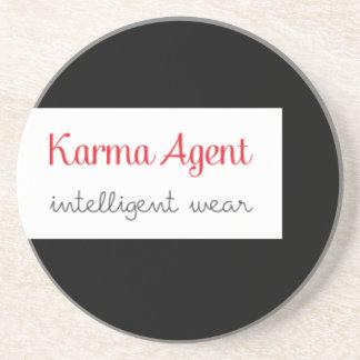Dessous De Verre En Grès agent de karma - usage intelligent, énergie