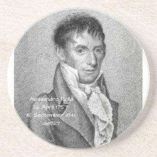 Dessous De Verre En Grès Alessandro Rolla avant 1827