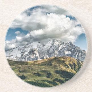 Dessous De Verre En Grès Alpes de dolomites, Italie