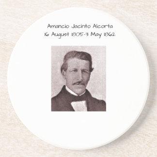 Dessous De Verre En Grès Amancio Jacinto Alcorta