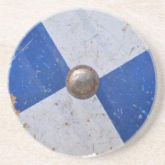Dessous De Verre En Grès armure en bois médiévale de chevalier d'arme de