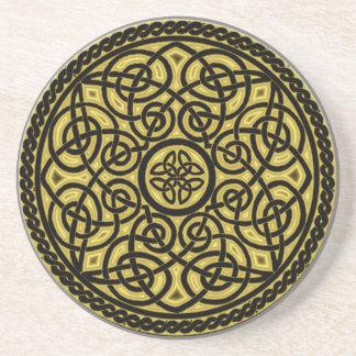 Dessous De Verre En Grès art celtique
