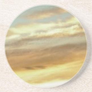 Dessous De Verre En Grès art de ciel de coucher du soleil