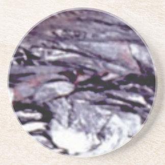 Dessous De Verre En Grès art refroidi de lave