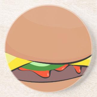 Dessous De Verre En Grès Bande dessinée de cheeseburger