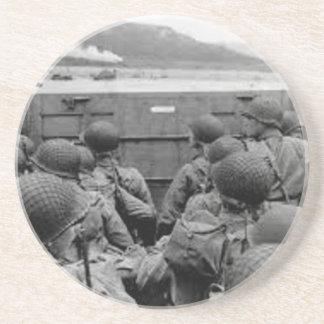 Dessous De Verre En Grès Bataille de la Normandie