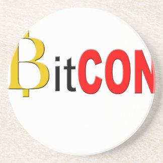 Dessous De Verre En Grès BitCON 3D