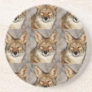 Dessous De Verre En Grès boîtes de coyotes