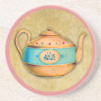 Dessous De Verre En Grès Bouilloire de thé anglaise