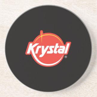 Dessous De Verre En Grès Caboteur de logo de Krystal